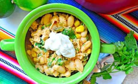 Quick White Bean Chicken Chili Recipe