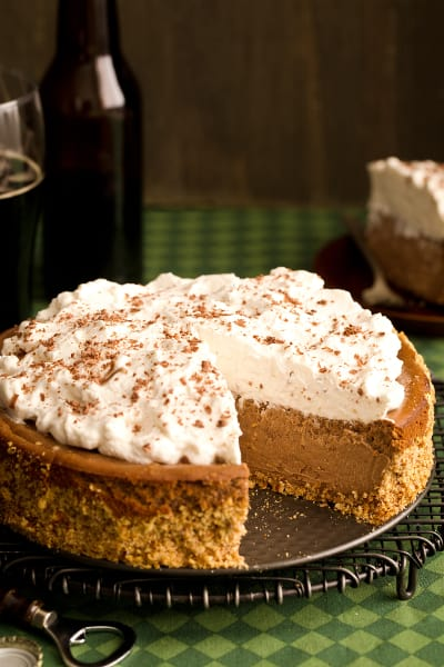Chocolate Stout Cheesecake Pic