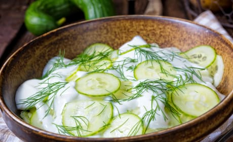 German Cucumber Salad Photo