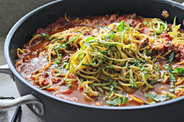 Zoodles Bolognese Image