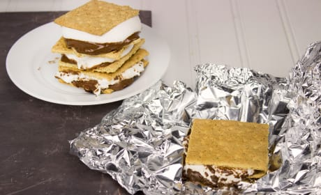 Grilled S'mores Recipe