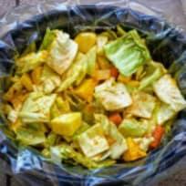 Slow Cooker Ethiopian Cabbage