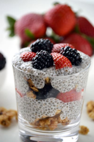 Chia Seed Parfait Picture