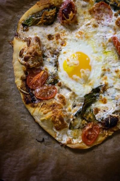 Caprese Pizza Pic