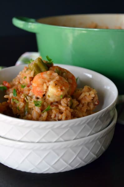 Andouille and Shrimp Jambalaya Picture
