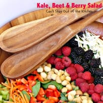 Kale, Beet and Berry Salad