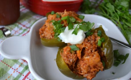Slow Cooker Stuffed Peppers Photo
