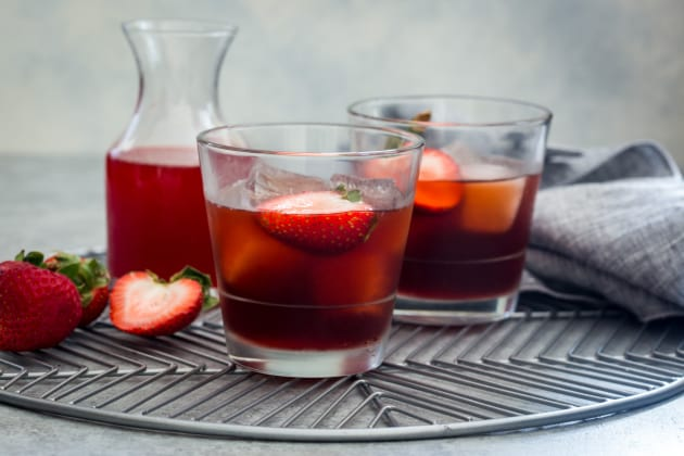 Strawberry Negroni Photo