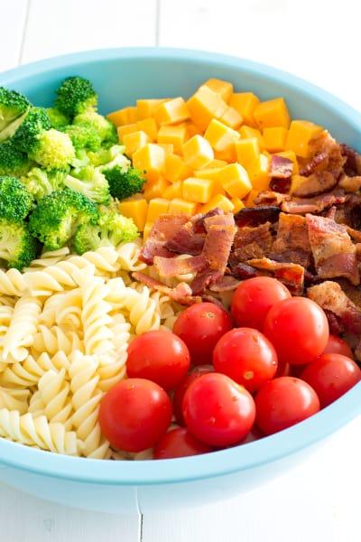 Bacon Cheddar Ranch Pasta Salad Image
