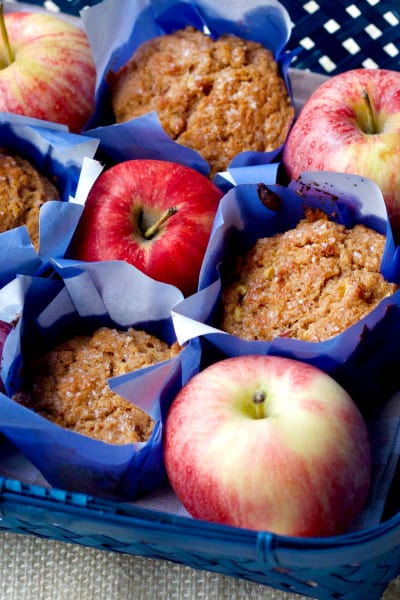 Whole Wheat Apple Cinnamon Muffins Picture