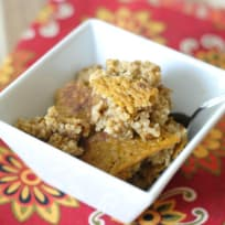 Baked Pumpkin Oatmeal Recipe