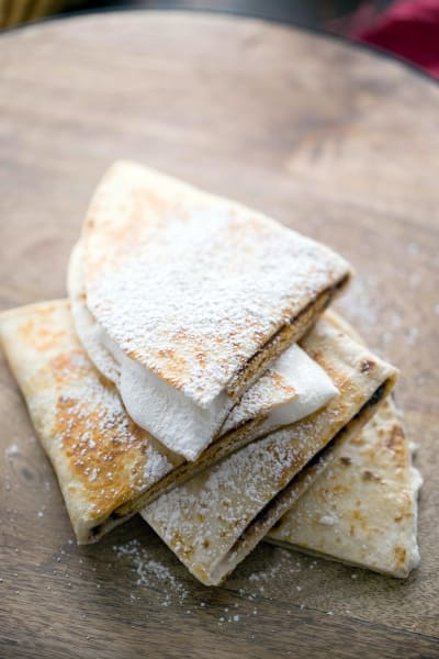 S'mores Quesadilla Picture