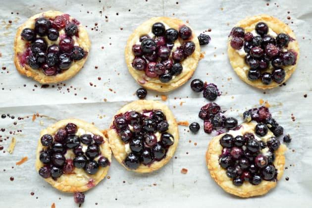 Roasted Berry Breakfast Tarts Image