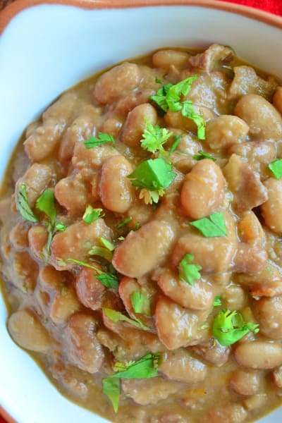 Slow Cooker Ranchero Beans Picture