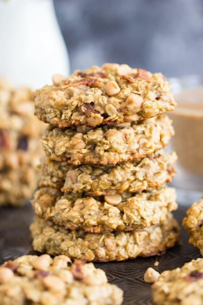 Peanut Butter Bacon Breakfast Cookies Pic