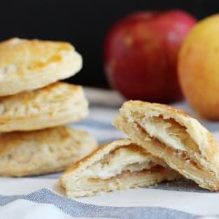 Apple pie cookies photo
