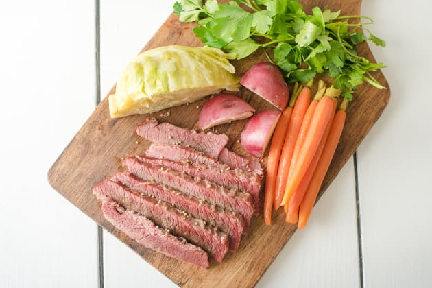 Traditional Corned Beef and Cabbage Image