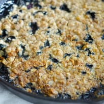 Gluten Free Blueberry Crisp Recipe