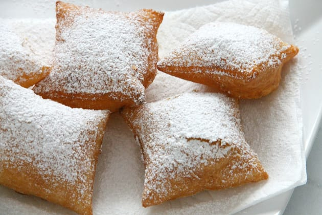 Puff Pastry Beignets Photo