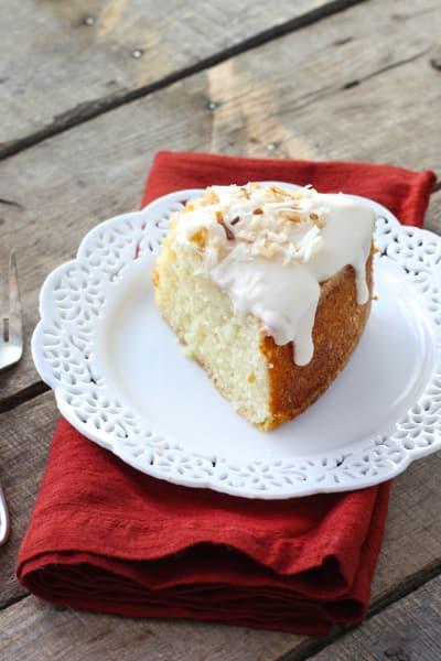 Louisiana Crunch Cake Picture