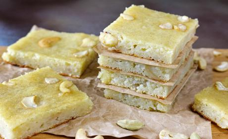 Cashew Potato Bars Recipe