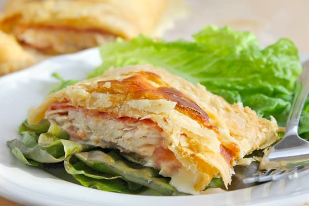 Puff Pastry Chicken Cordon Bleu Photo