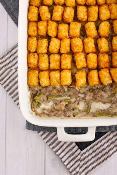 Gluten Free Tater Tot Casserole Picture
