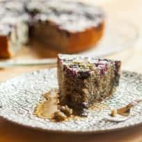 Blueberry Cornmeal Cake Recipe