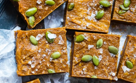 Paleo Pumpkin Freezer Fudge Image