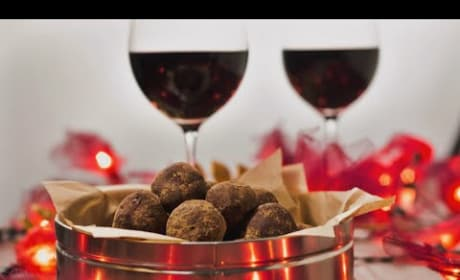 How to Make Red Wine Chocolate Truffles