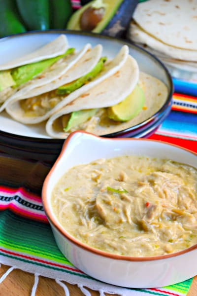 Slow Cooker Creamy Salsa Verde Chicken Picture