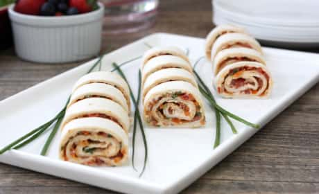 Spicy Tortilla Roll Ups Recipe
