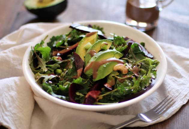 Roasted Beet & Avocado Salad Photo