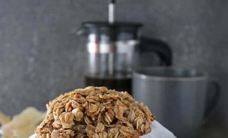 Ginger Granola Breakfast Cookies Picture