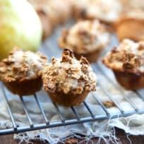 Spiced Pear Mini Muffins Recipe