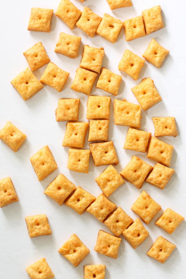 Homemade Cheez-It Crackers Picture