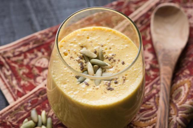 Pumpkin Lassi Recipe