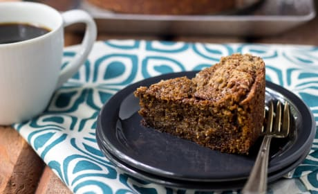 Espresso Streusel Coffee Cake Recipe
