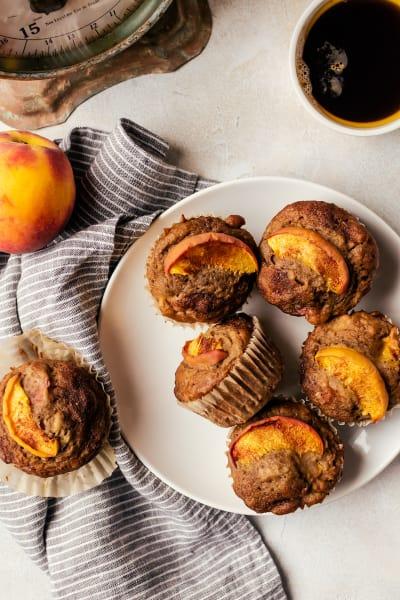 Peach Cinnamon Muffins Pic