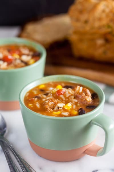 Southwest Chorizo Soup Picture