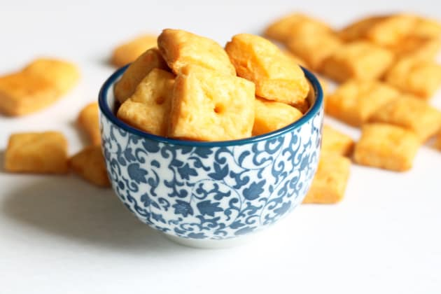 Homemade Cheez-It Crackers Photo