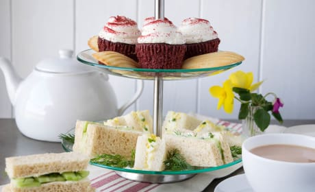 English Tea Sandwiches Picture