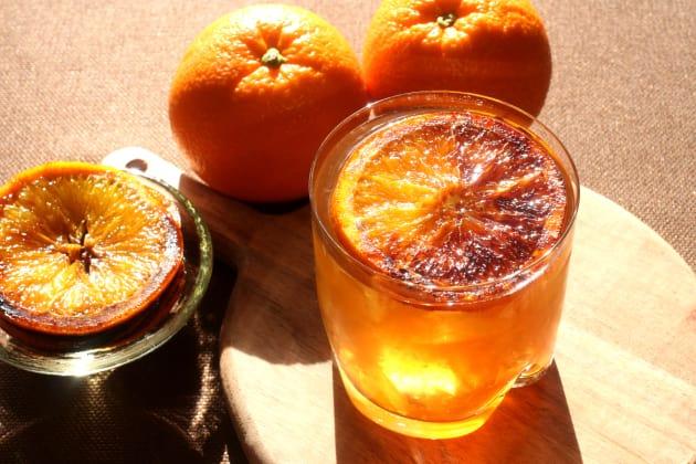 Charred Orange Whiskey Photo