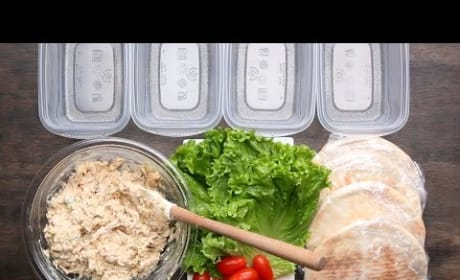 How to Make Healthy Chicken Salad Pockets