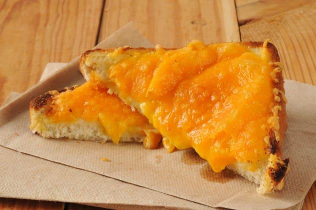 Cheese on toast photo