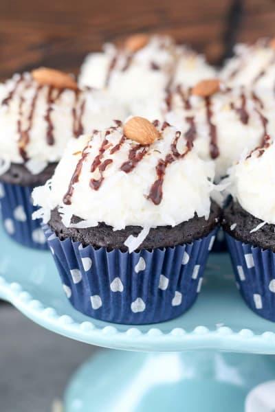 Almond Joy Cupcakes Picture