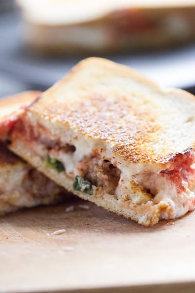 Lasagna Grilled Cheese Picture