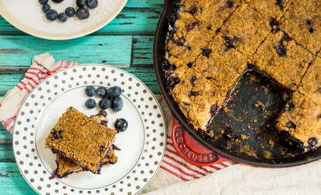 Blueberry Bourbon Buckle Recipe