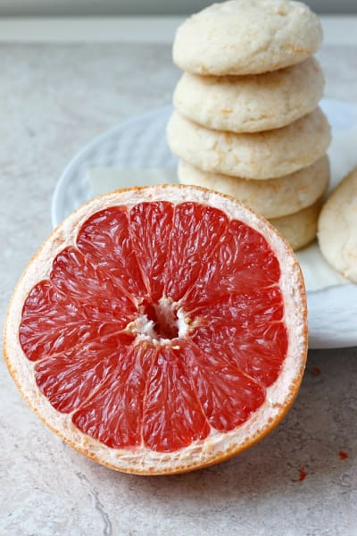 Coconut Grapefruit Sugar Cookies Picture