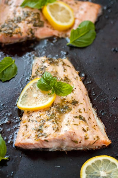 Lemon Basil Salmon Picture